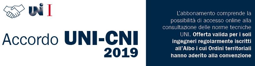 Nuova convenzione CNI-UNI  PER LA CONSULTAZIONE DELLE NORME TECNICHE A COSTO AGEVOLATO